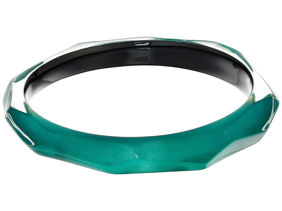 Alexis Bittar - Faceted Bangle Bracelet (Jungle Green) Bracelet