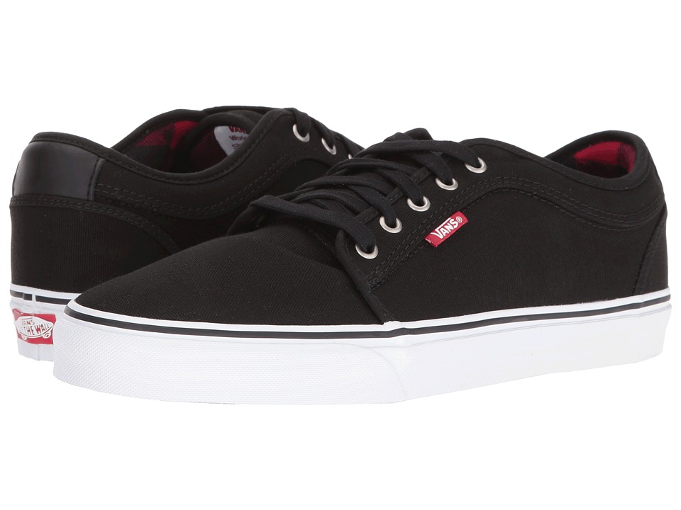 Vans - Chukka Low ((Flannel) Black/Chili Pepper) Men's Skate Shoes
