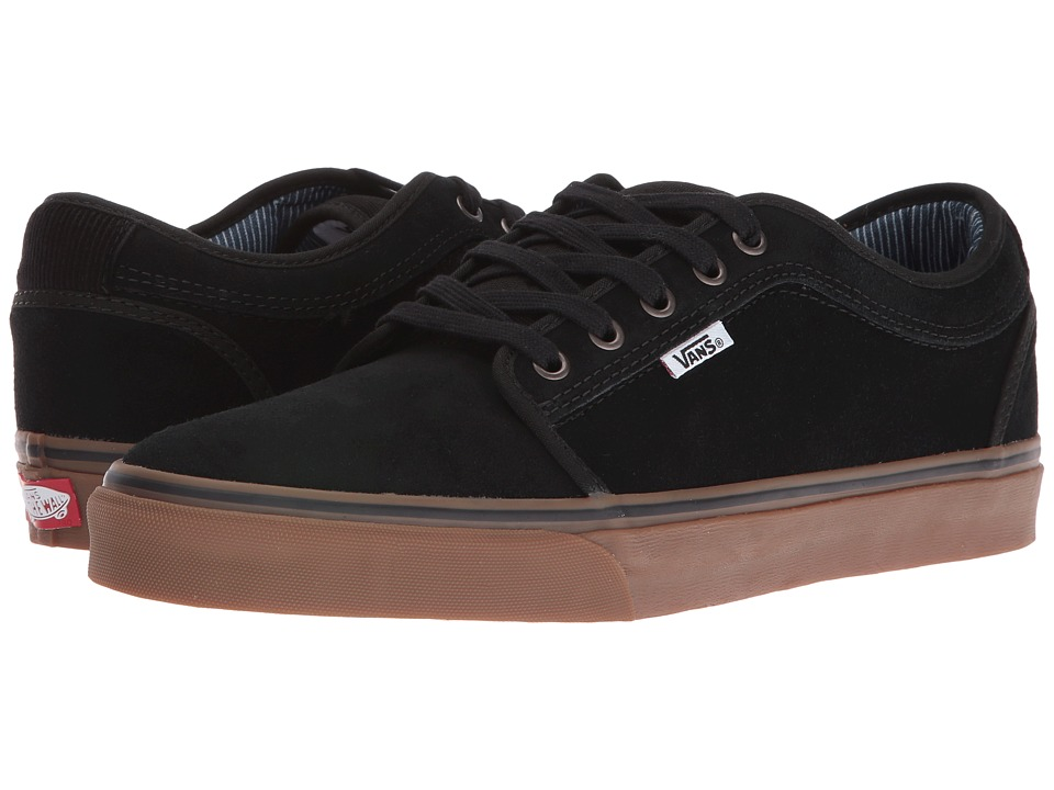 Vans - Chukka Low ((Work Wear) Black/Gum) Men's Skate Shoes