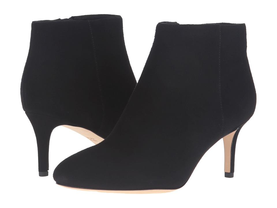 Via Spiga - Aurora (Black Kid Suede Leather) Women's Boots