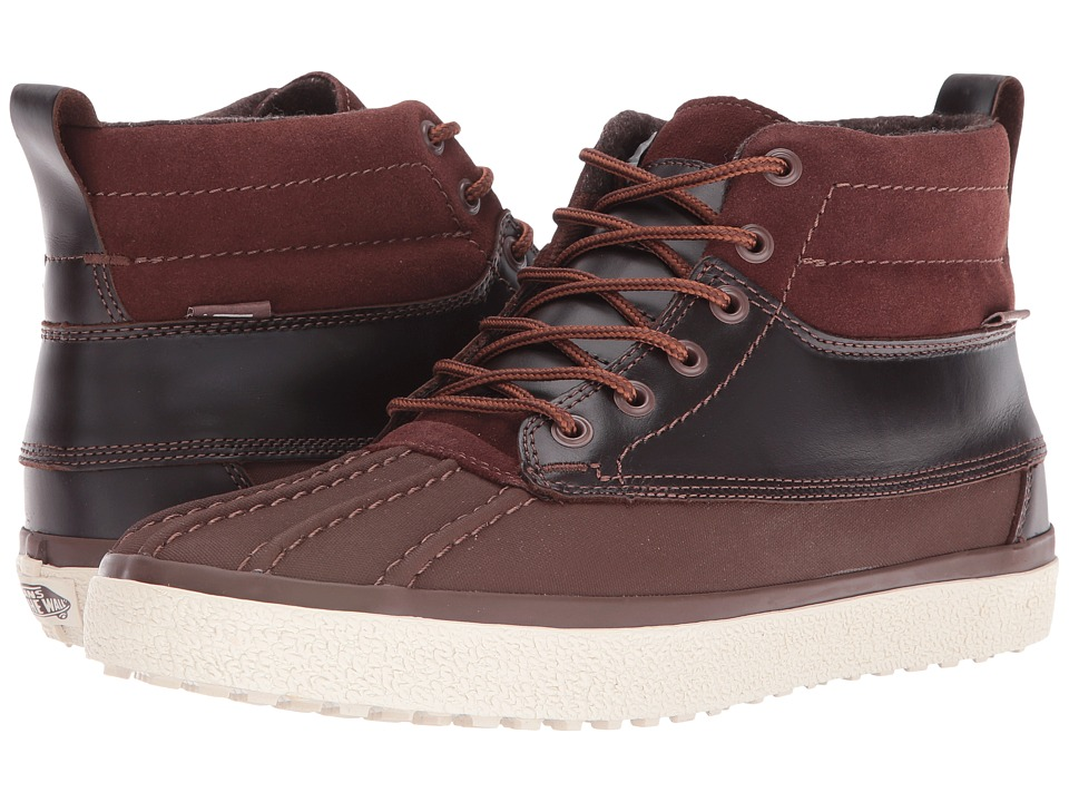 Vans - SK8-Hi Del Pato MTE DX ((MTE) Brown) Skate Shoes