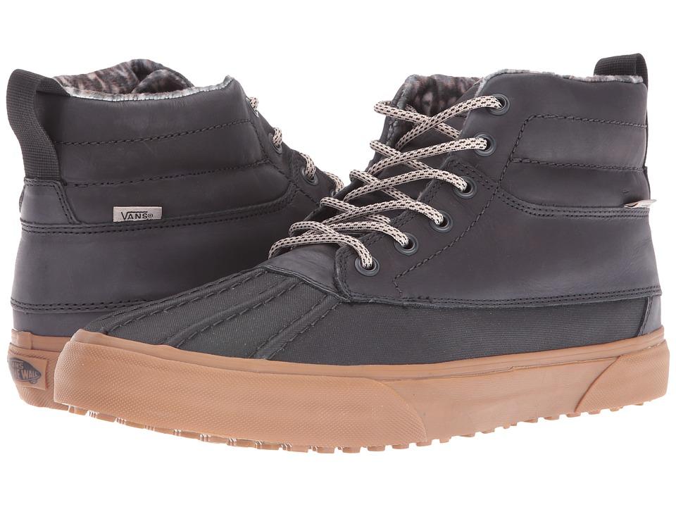 Vans - SK8-Hi Del Pato MTE ((MTE) Black/Feather/Gum) Skate Shoes