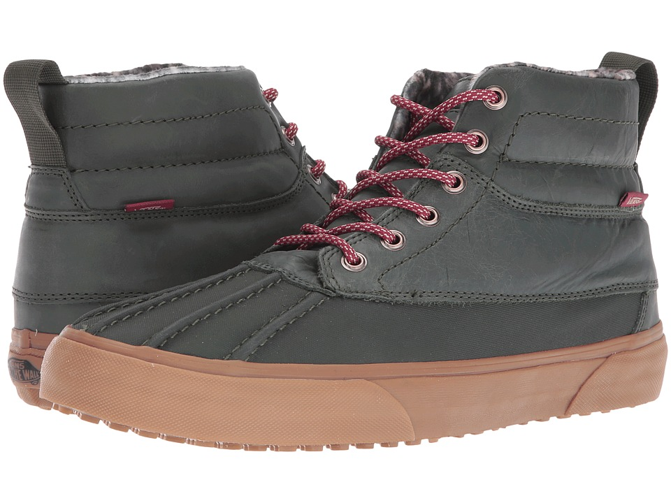 Vans - SK8-Hi Del Pato MTE ((MTE) Rosin/Feather/Gum) Skate Shoes