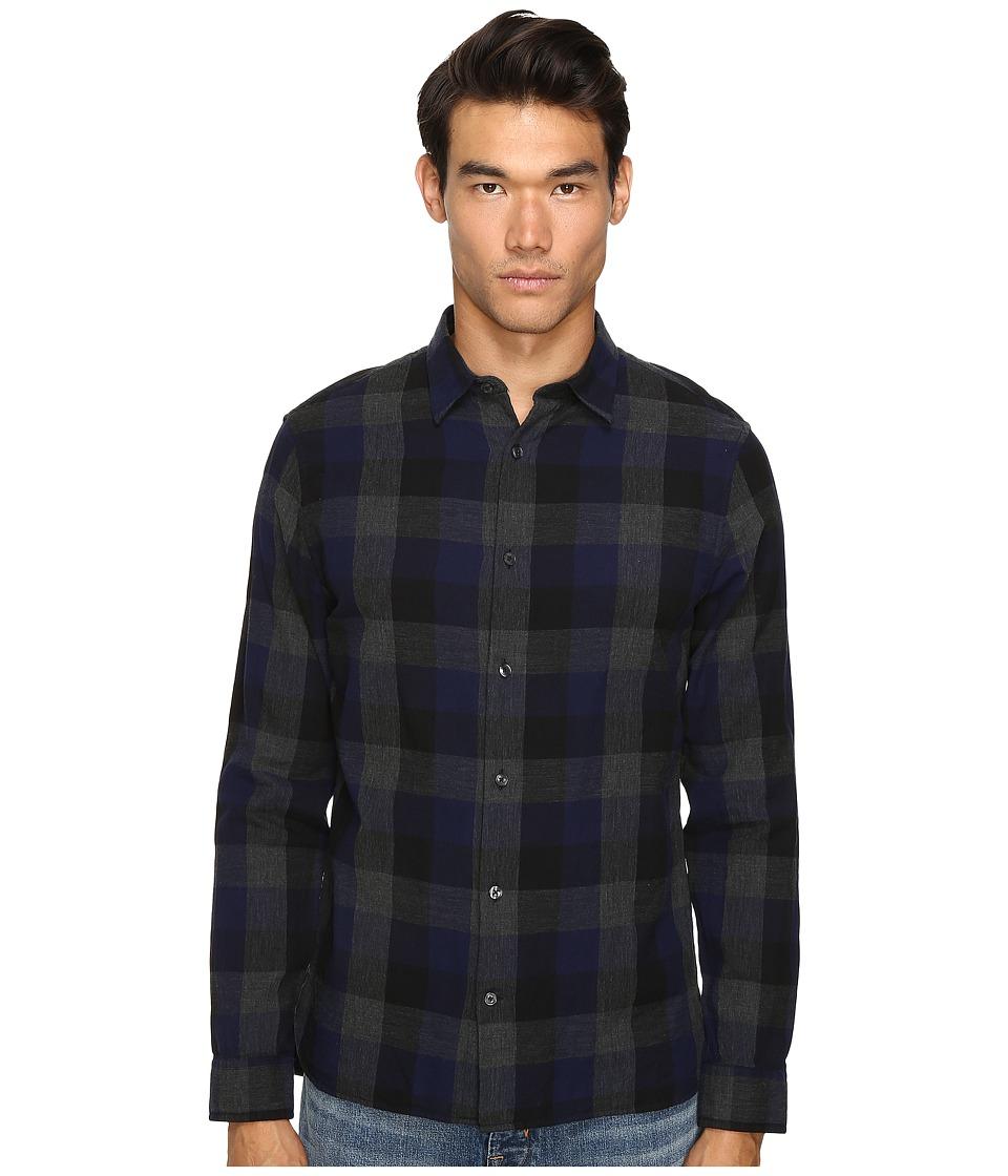 Vince - Melrose Shirt (Blue) Men's Clothing