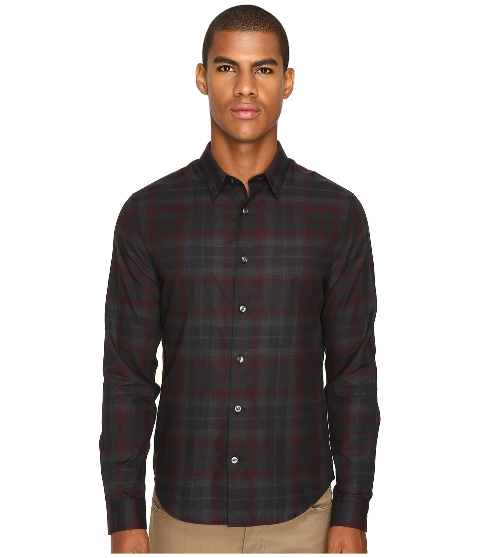 Vince - Manhattan Shirt (Red Multi) Men's Clothing
