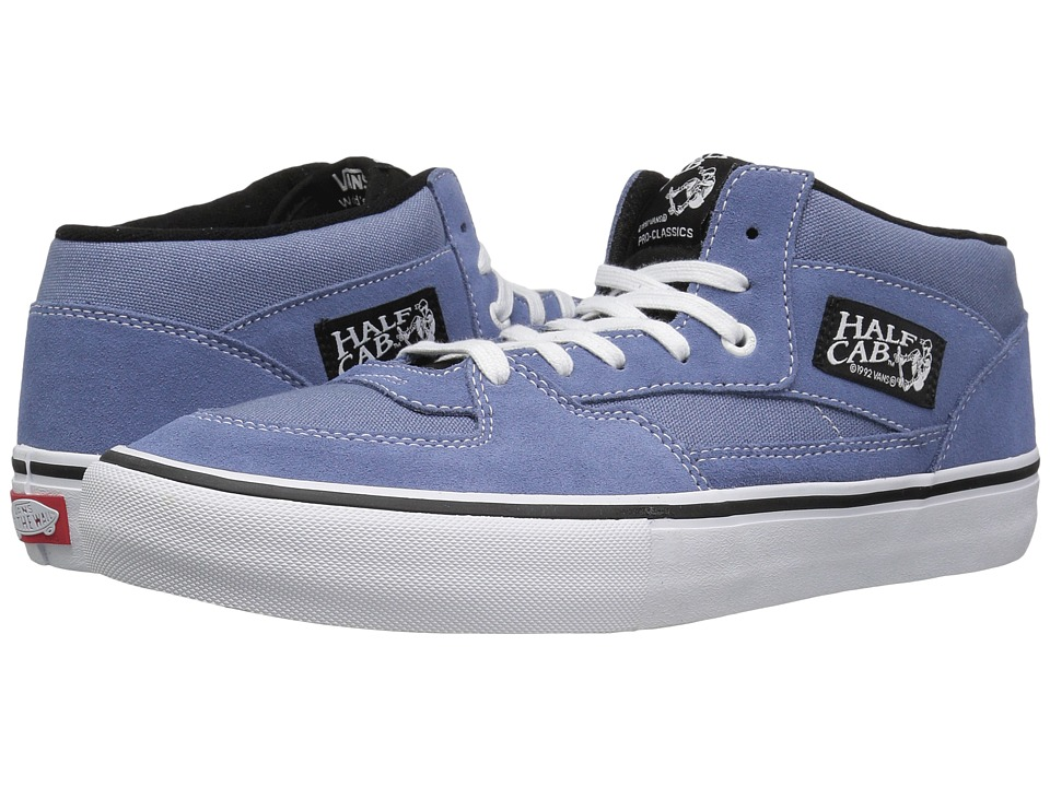 Vans - Half Cab Pro (Infinity/White) Men's Skate Shoes