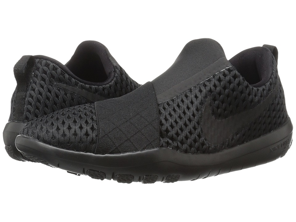 Nike - Free Connect (Black/Black/Black) Women's Slip on Shoes