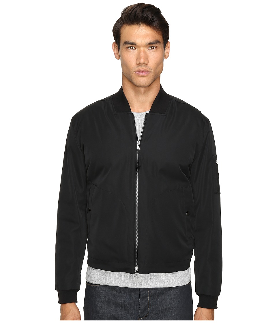 Vince - Utility Bomber Jacket (Black) Men's Coat