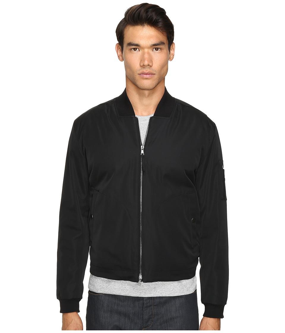 Vince - Utility Bomber Jacket (Black) Men's Coat