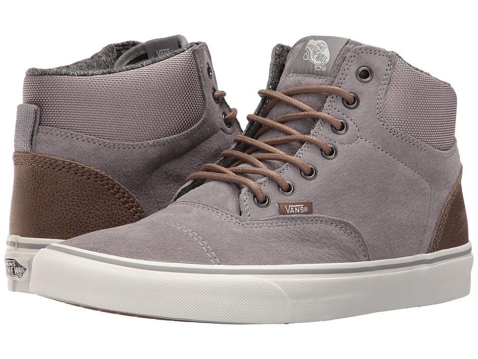 Vans - Era-Hi ((Pig Suede/Nylon) Frost Gray/Blanc De Blanc) Skate Shoes