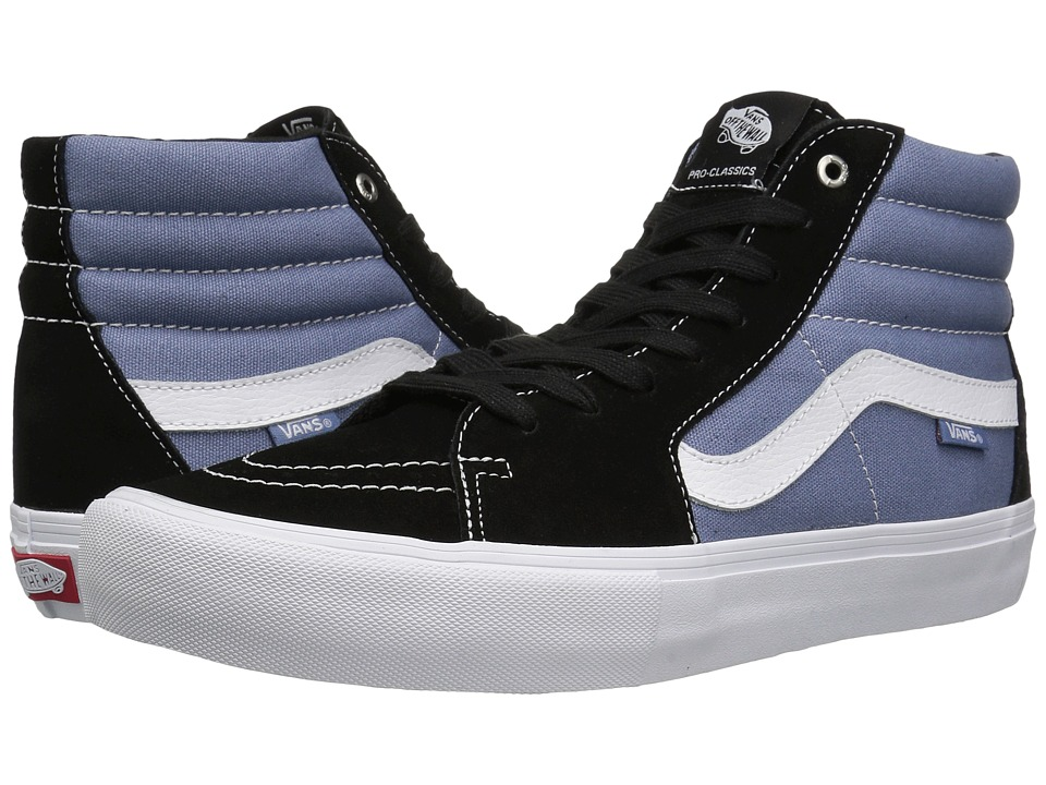 Vans - SK8-Hi Pro (Black/Infinity) Men's Skate Shoes