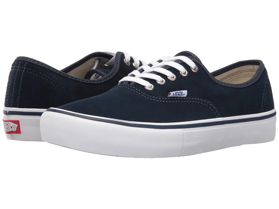 Vans - Authentic Pro (Dress Blues/White) Men's Skate Shoes