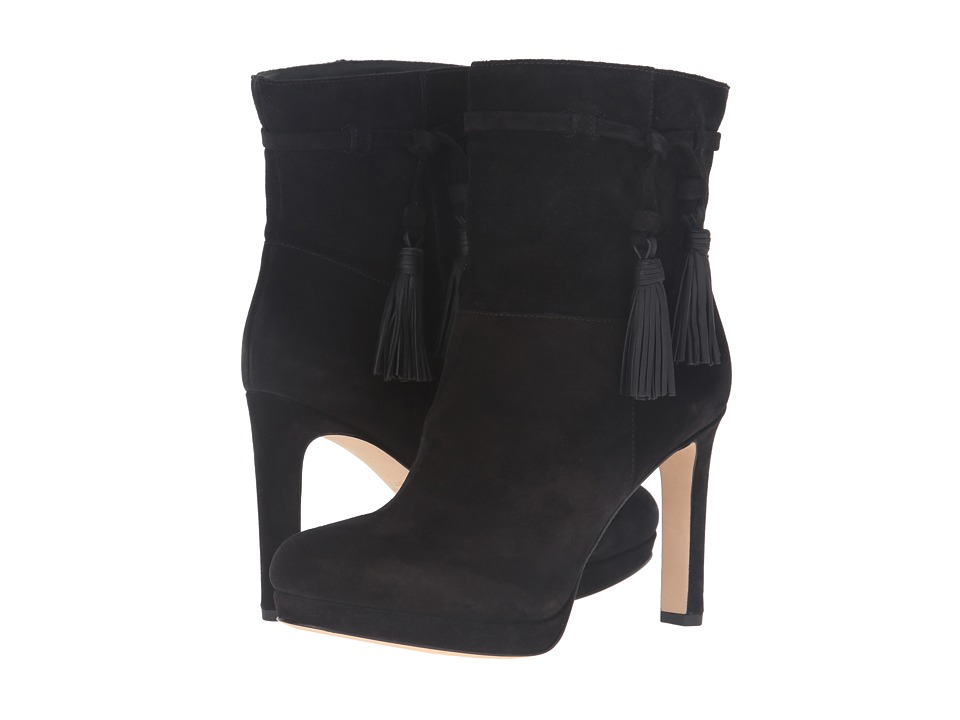 Via Spiga - Bristol (Black Coco Sport Suede) Women's Pull-on Boots