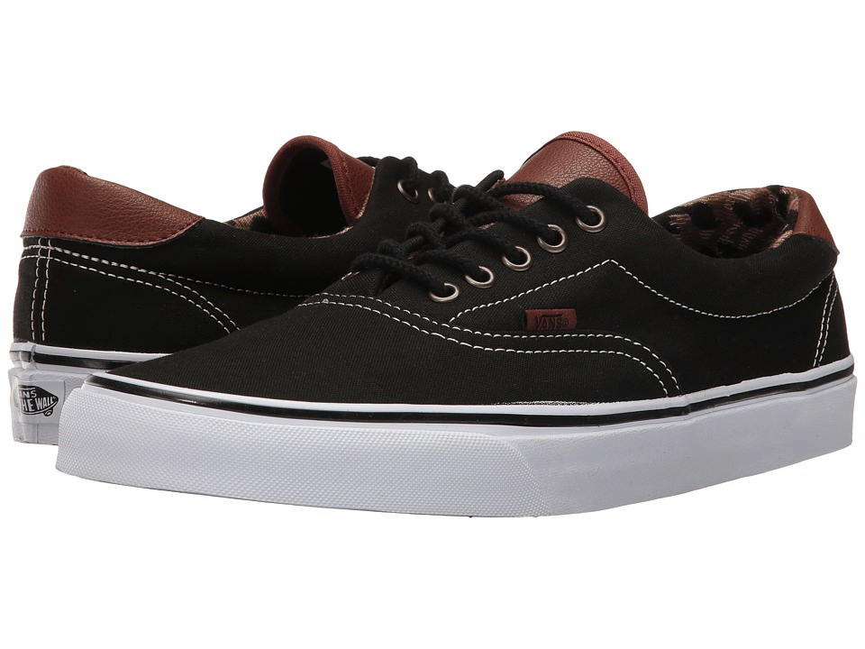 Vans - Era 59 ((C&L) Black/Italian Weave) Skate Shoes