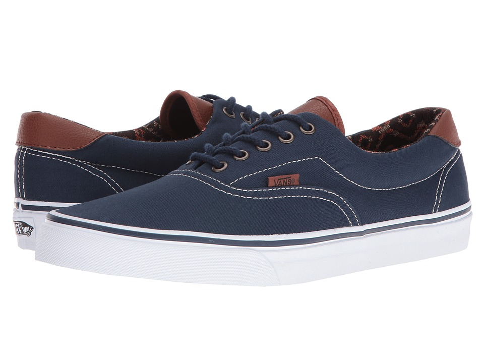 Vans - Era 59 ((C&L) Dress Blues/Italian Weave) Skate Shoes