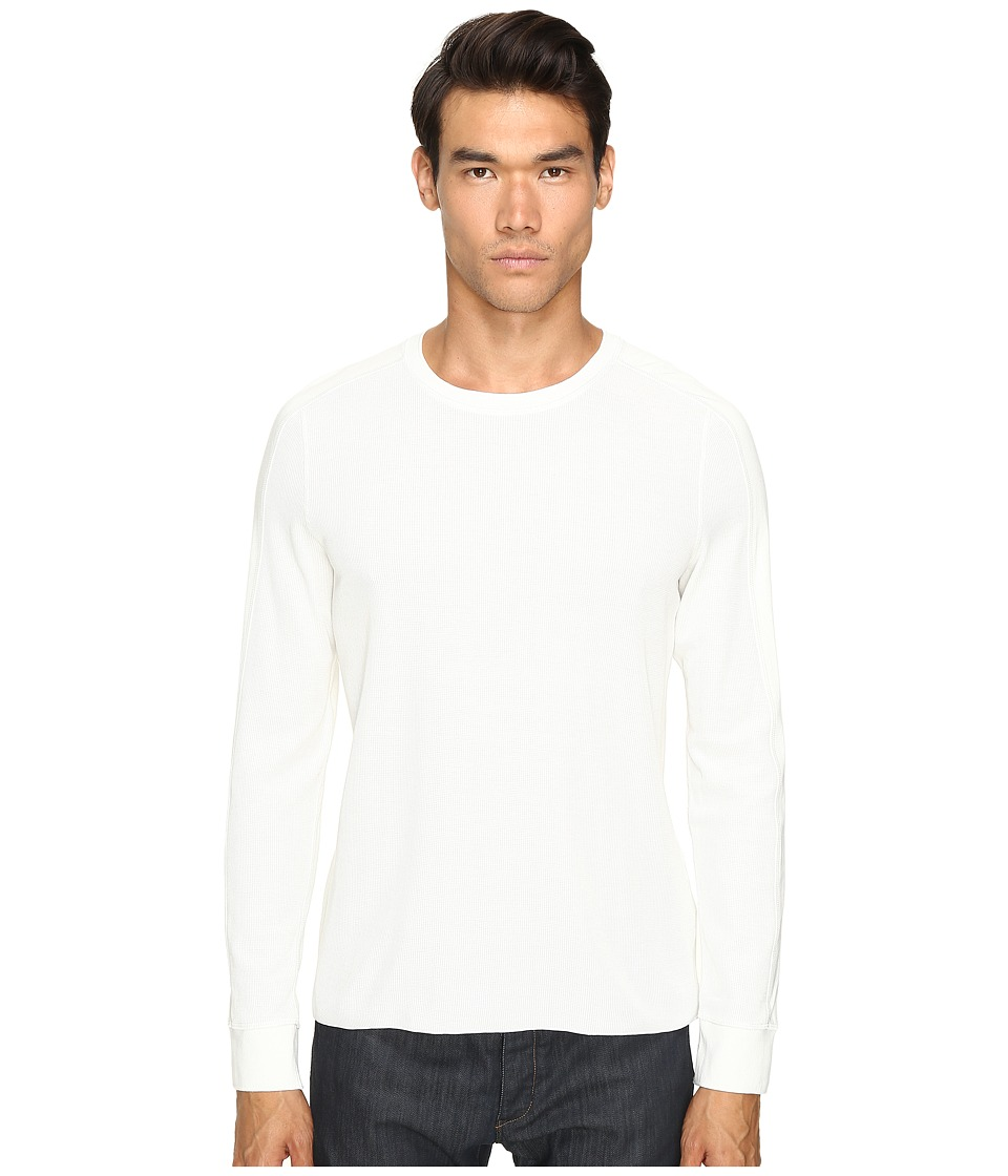 Vince - Long Sleeve Crew (Pearl) Men's T Shirt