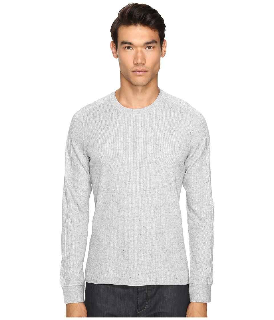 Vince - Long Sleeve Crew (Heather Steel) Men's T Shirt