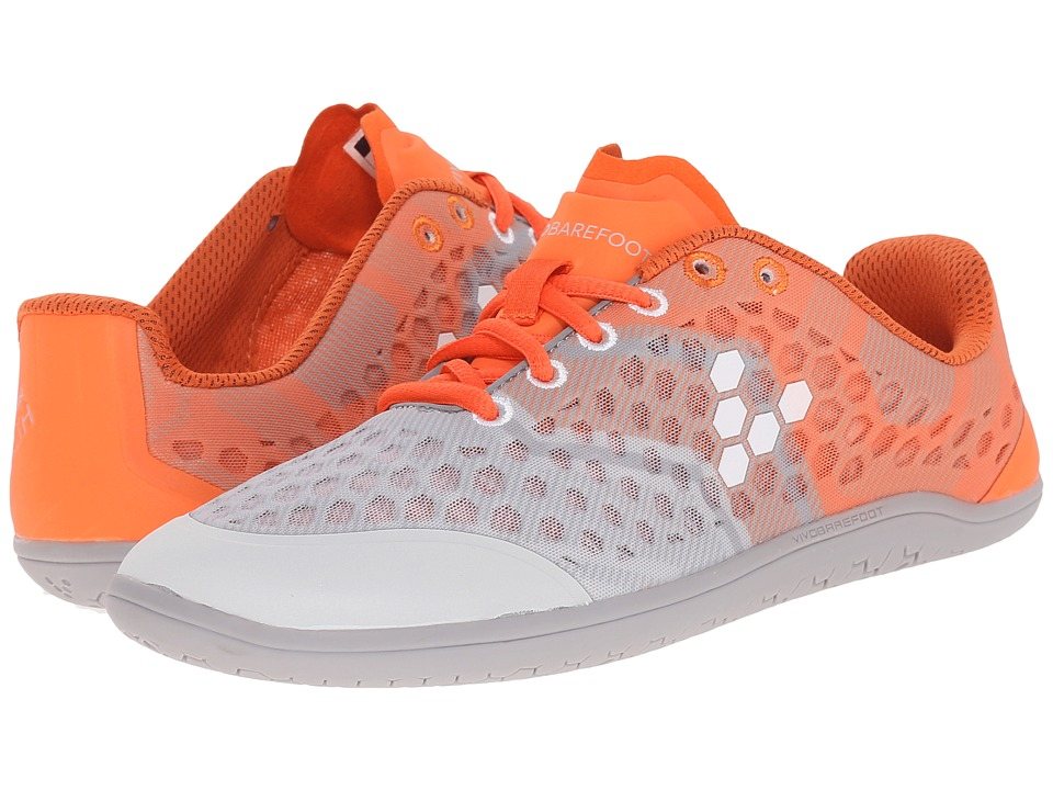 Vivobarefoot - Stealth II (Grey/Orange) Women's Shoes