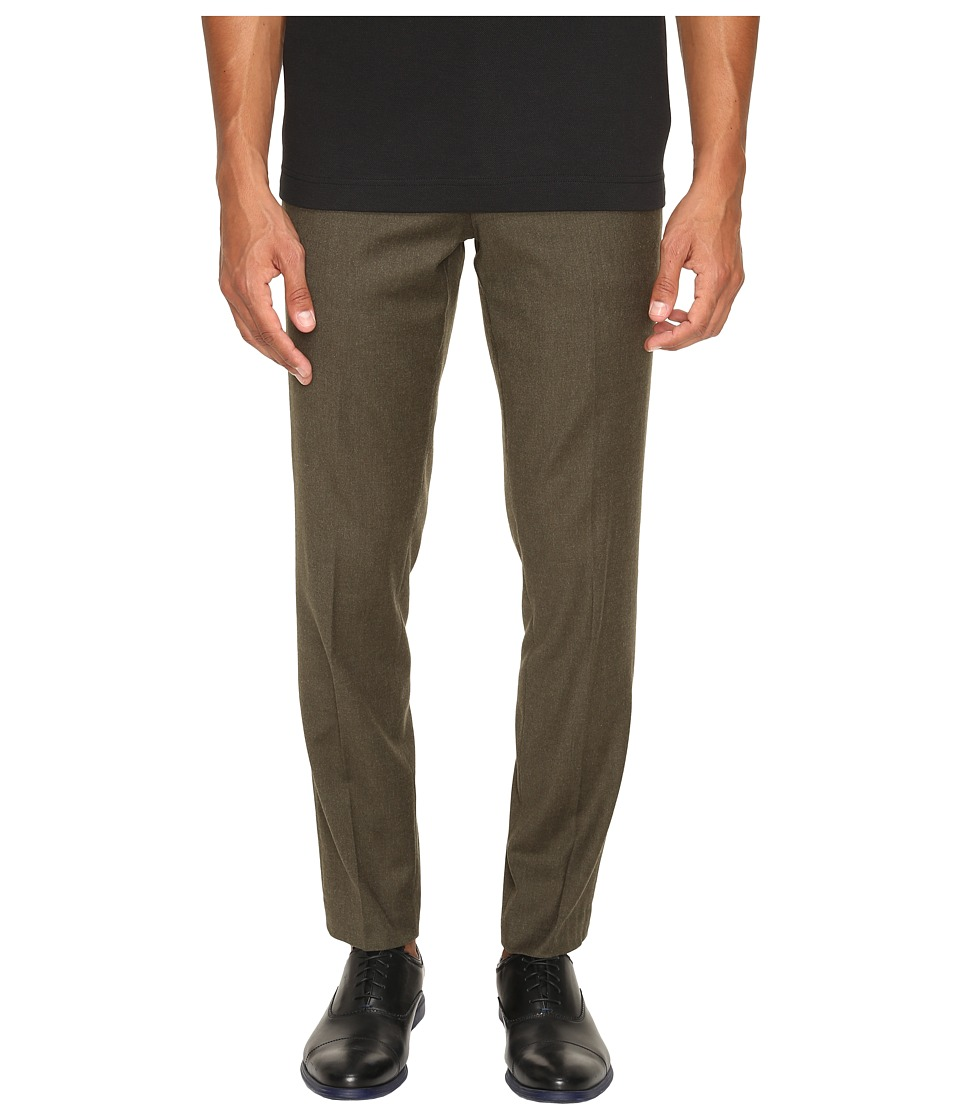 Vince - Slim Trousers (Military Green) Men's Casual Pants