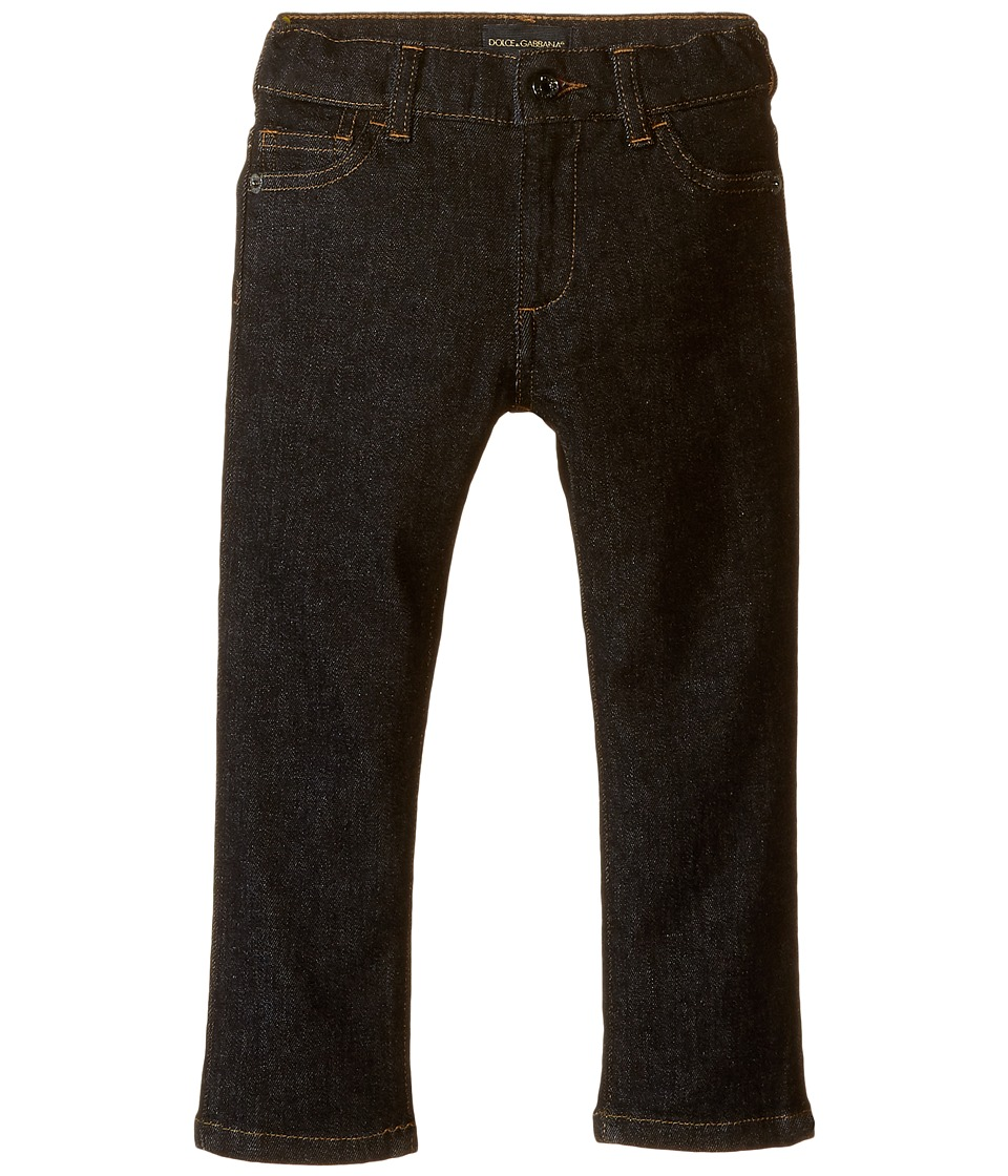Dolce & Gabbana Kids - Back to School Black Jeans (Toddler/Little Kids) (Charcoal Denim) Boy's Jeans