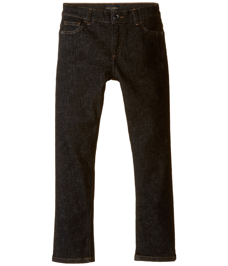 Dolce & Gabbana Kids - Back to School Black Jeans (Big Kids) (Charcoal Denim) Boy's Jeans