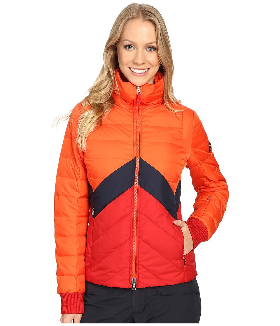 Bogner Fire + Ice - Edina-D (Flame/Red/Navy) Women's Clothing