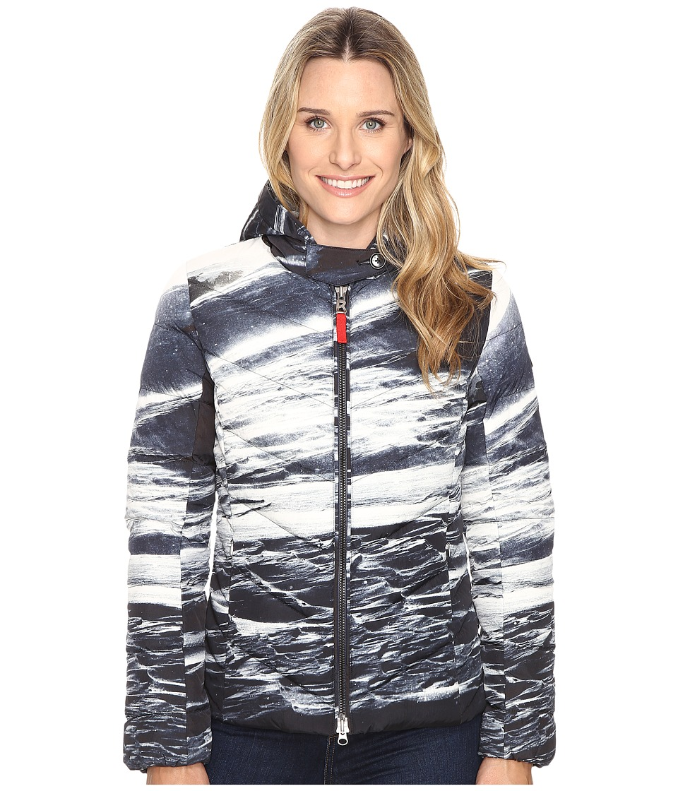 Bogner Fire + Ice - Xenia3-D (Navy Print) Women's Clothing