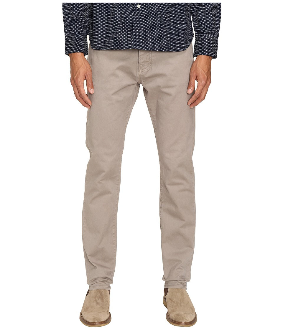 Jack Spade - Stonehill Slim Fit Five-Pocket Trousers (Grey) Men's Casual Pants