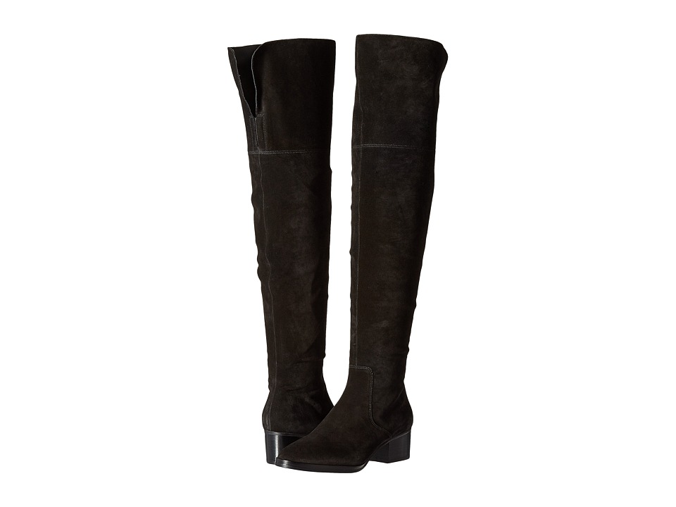 Via Spiga - Ophira (Black Coco Sport Suede) Women's Pull-on Boots