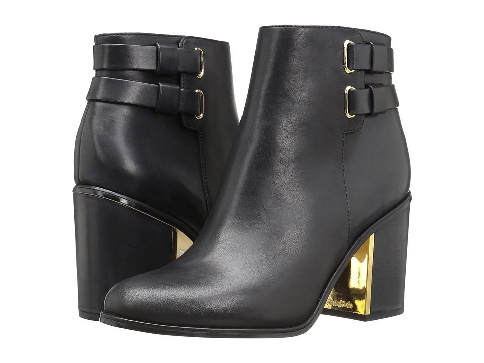 Calvin Klein - Cait (Black Leather) Women's Shoes