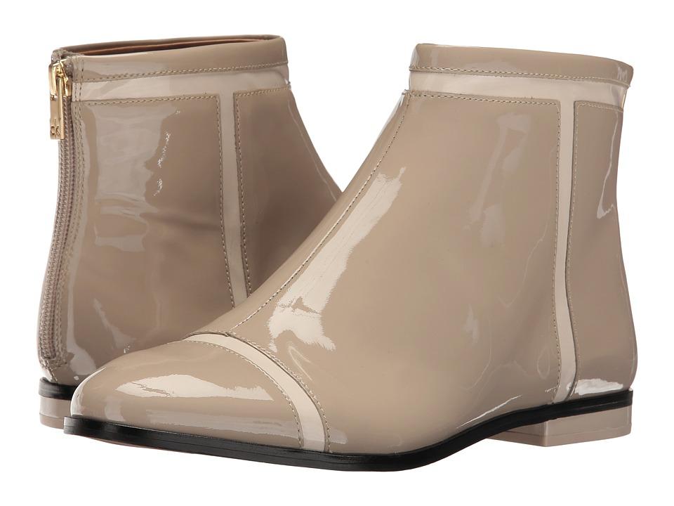 Calvin Klein - Cari (Cocoon/Ivory Patent) Women's Shoes