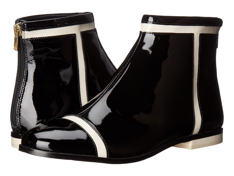 Calvin Klein - Cari (Black/Soft White Patent) Women's Shoes