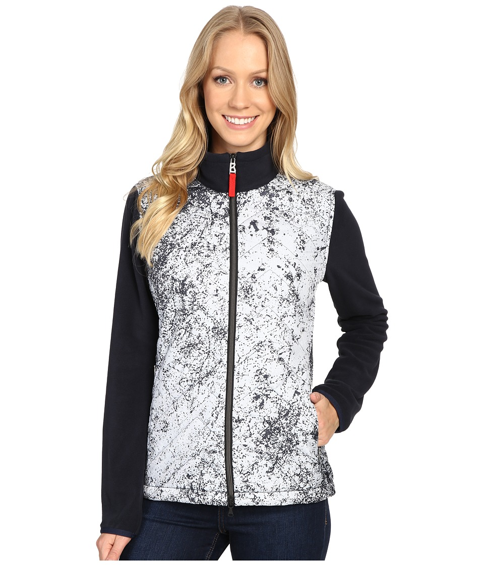 Bogner Fire + Ice - Mara (White/Navy) Women's Clothing