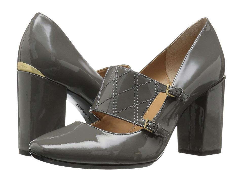 Calvin Klein Casilla (Shadow Grey Patent) Women