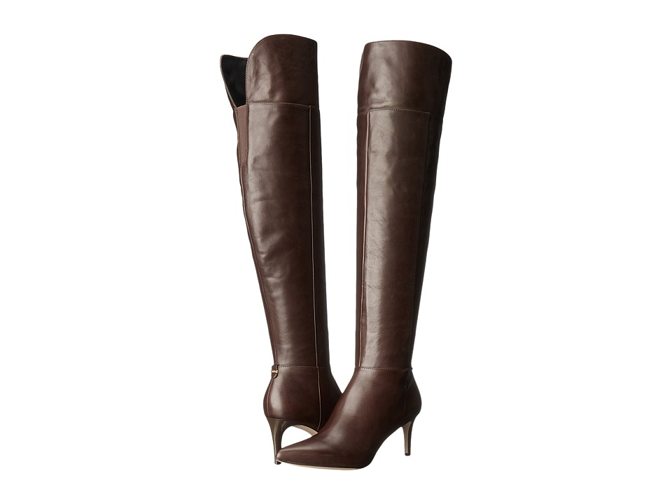 Calvin Klein - Coletta (Coffee Bean Leather) Women's Shoes