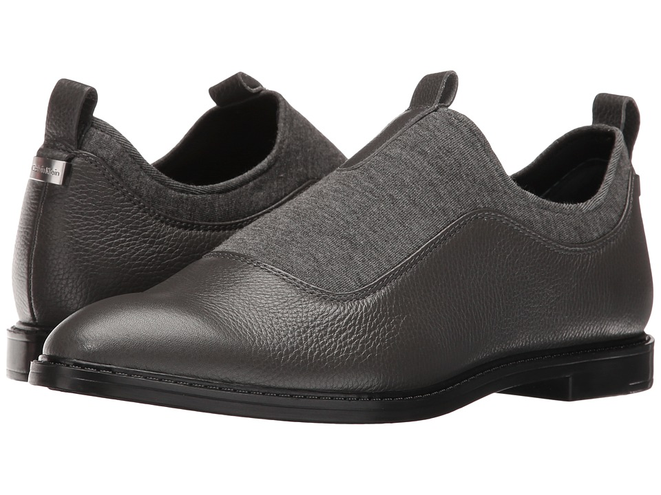 Calvin Klein - Damira (Shadow Grey/Grey Leather/Neoprene) Women's Shoes
