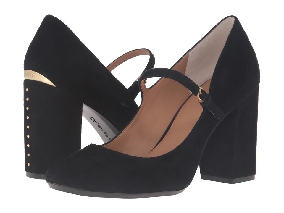 Calvin Klein Cassian (Black Suede) Women