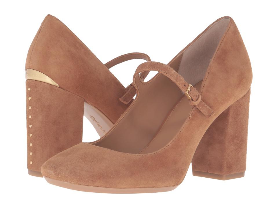 Calvin Klein - Cassian (Caramel Suede) Women's Shoes