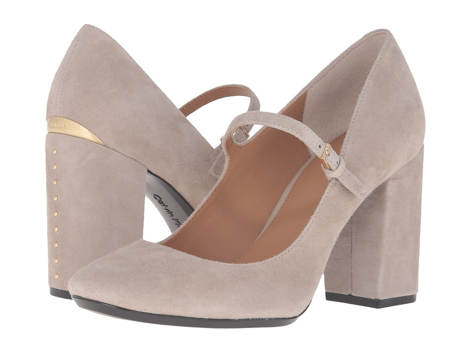 Calvin Klein - Cassian (Clay Suede) Women's Shoes