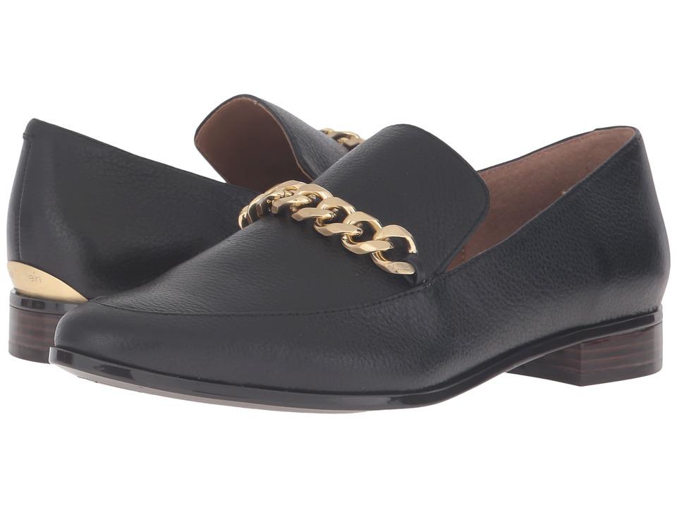 Calvin Klein Fanna (Black Waxy Tumbled Leather) Women