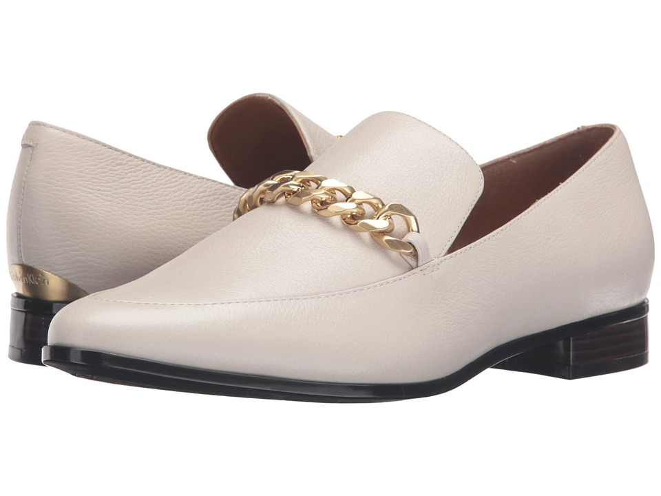 Calvin Klein Fanna (Soft White Waxy Tumbled Leather) Women