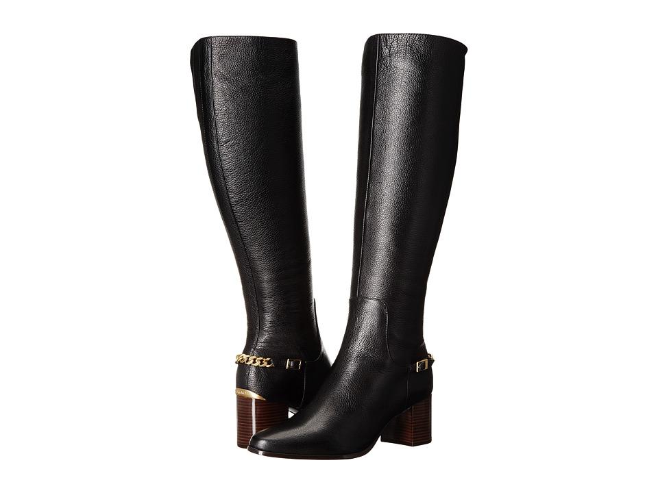 Calvin Klein Fabrice (Black Waxy Tumbled Leather) Women