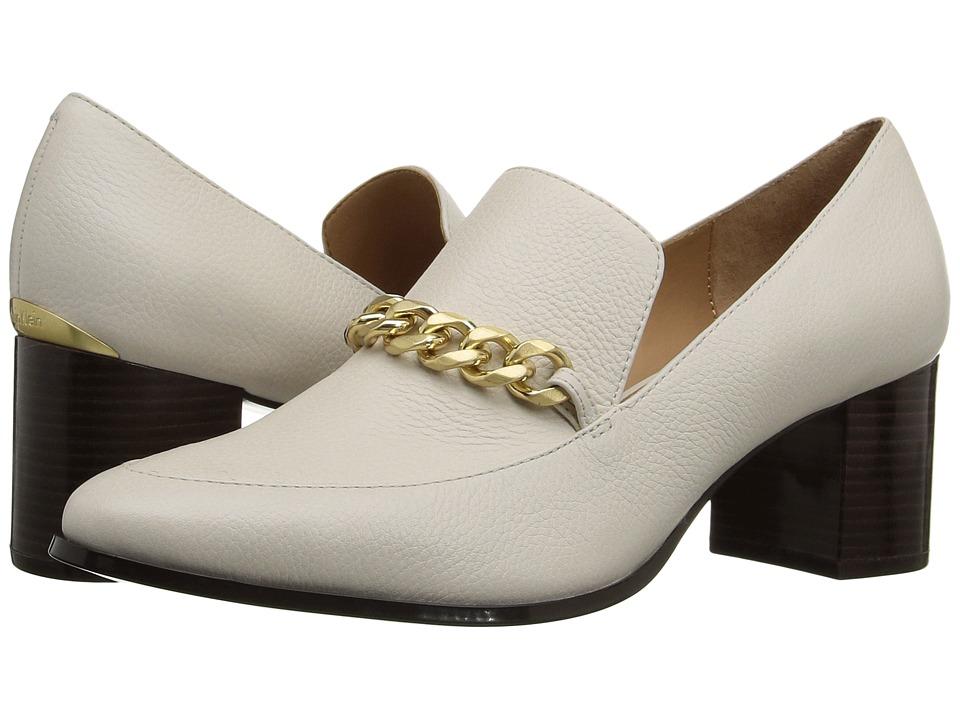Calvin Klein Finney (Soft White Waxy Tumbled Leather) Women