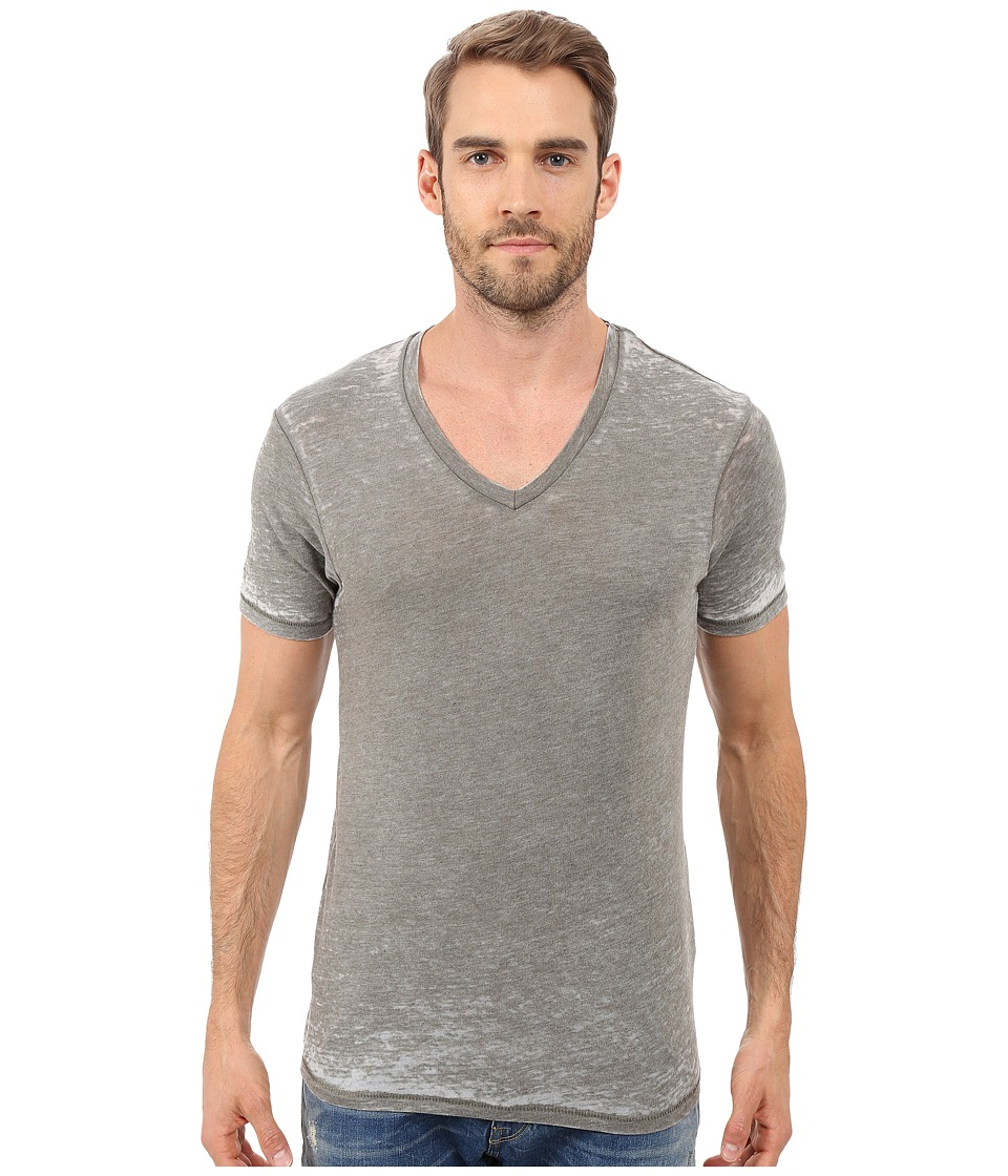 Alternative - Eco Jersey Burnout Boss V-Neck (Military Burnout) Men's T Shirt