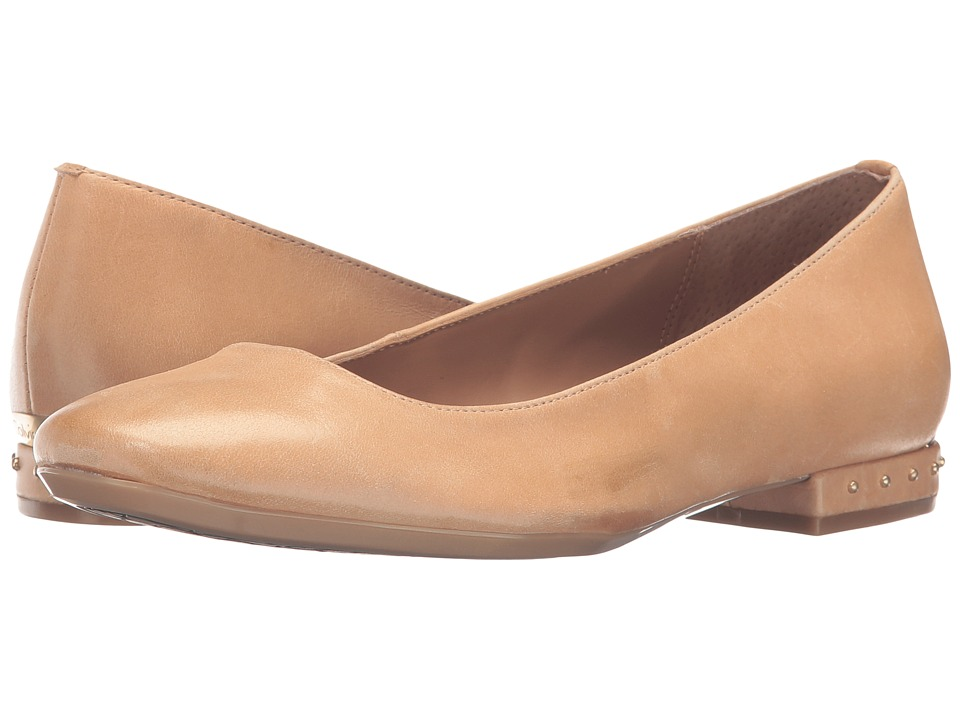 Calvin Klein - Fridelle (Sandstorm Leather) Women's Shoes