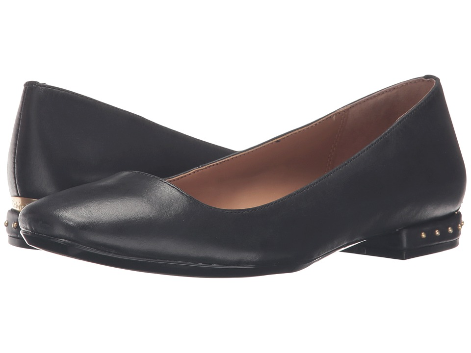 Calvin Klein - Fridelle (Black Leather) Women's Shoes