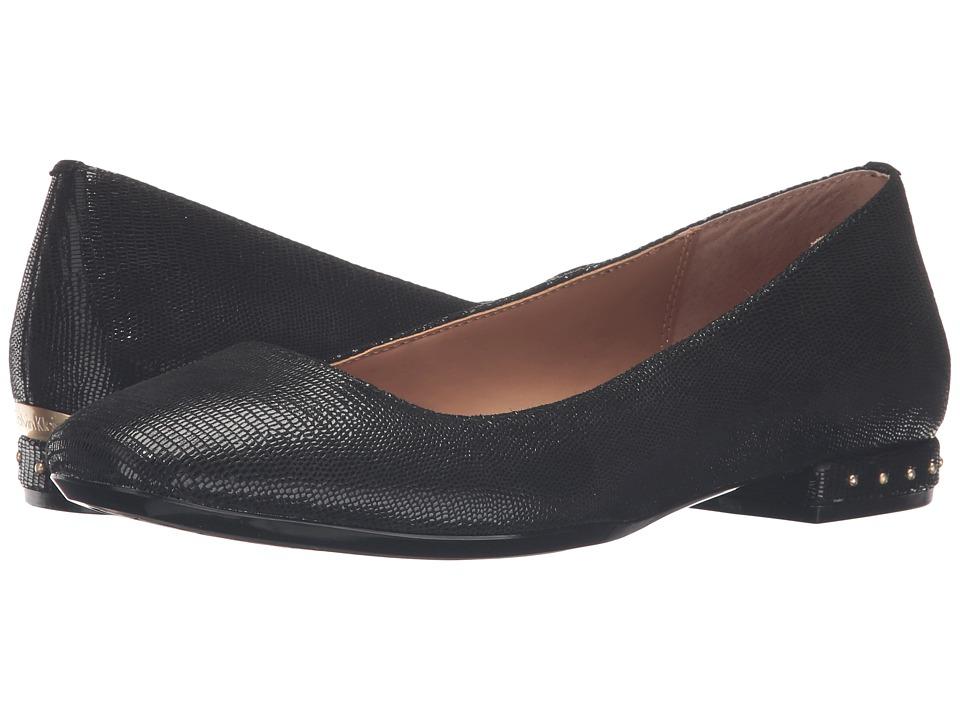 Calvin Klein Fridelle (Black Tejus Lizard Print Leather) Women