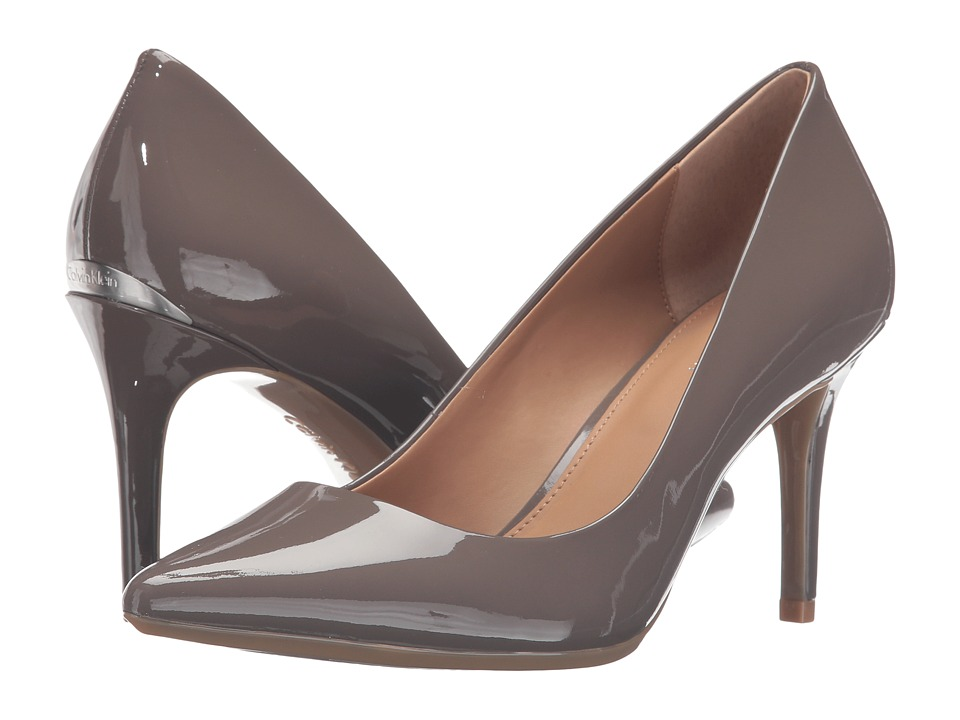 Calvin Klein - Gayle (Winter Taupe Patent) High Heels