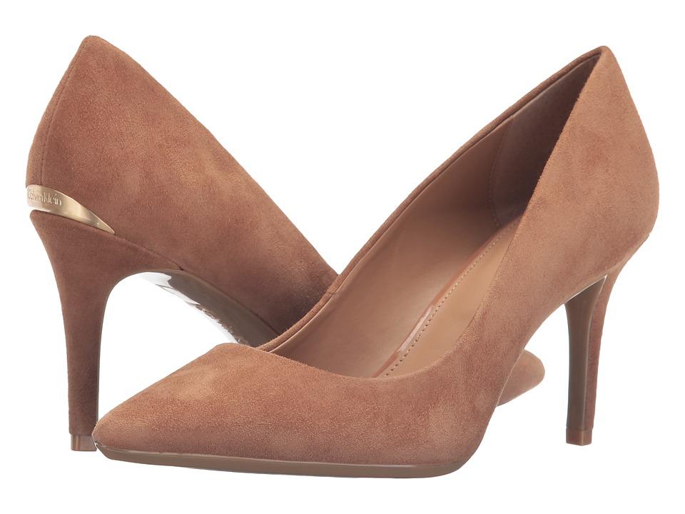 Calvin Klein - Gayle (New Caramel Suede) High Heels