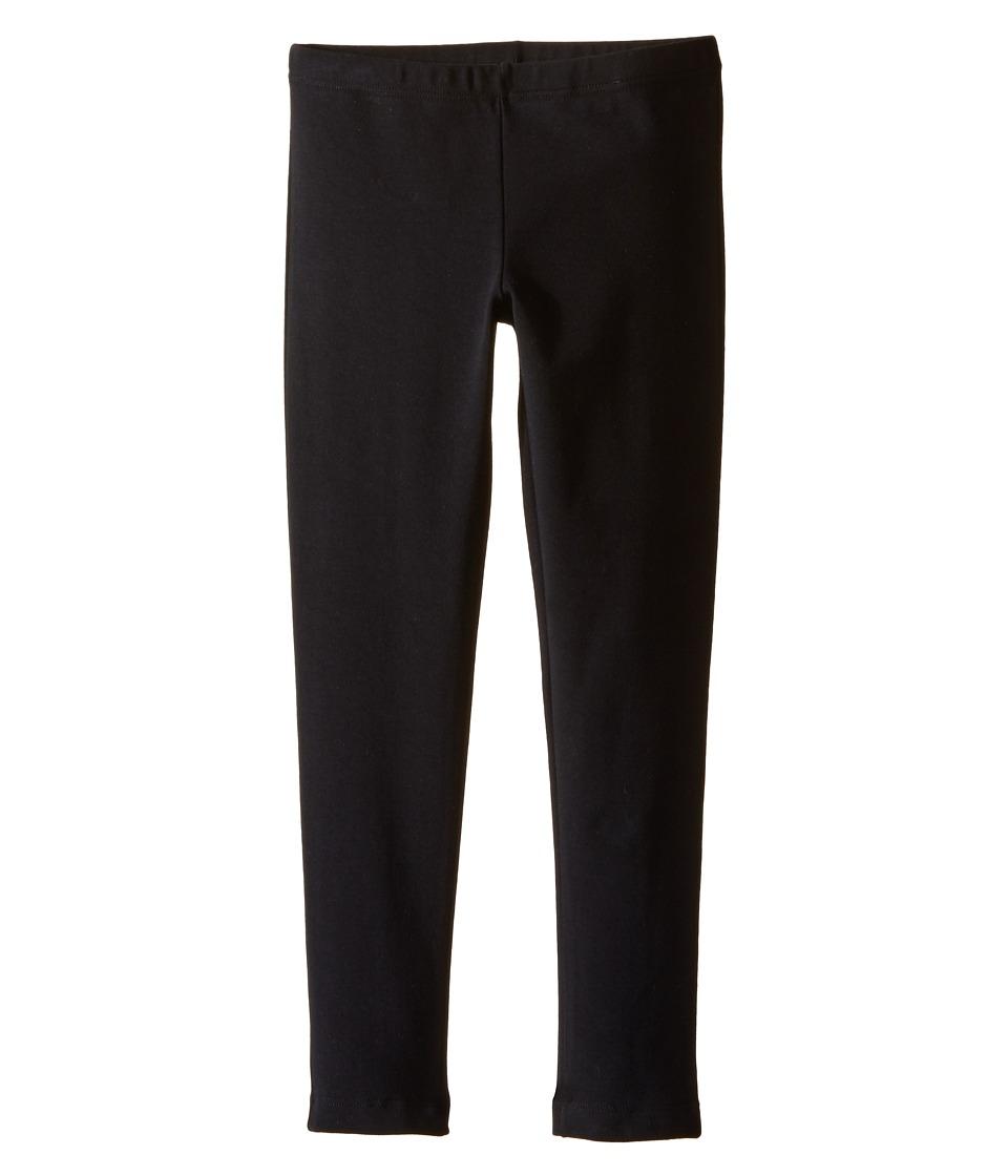 Dolce & Gabbana Kids - Back to School Leggings (Toddler/Little Kids) (Black) Girl's Casual Pants